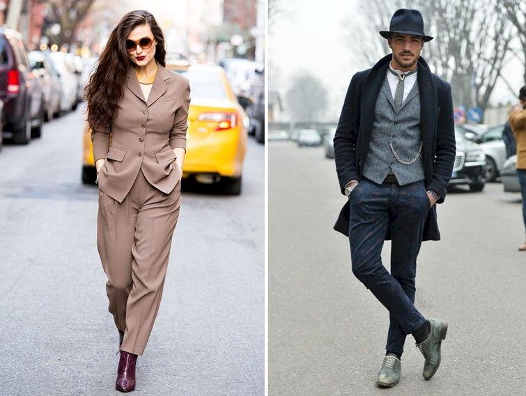 Денди стиль в одежде