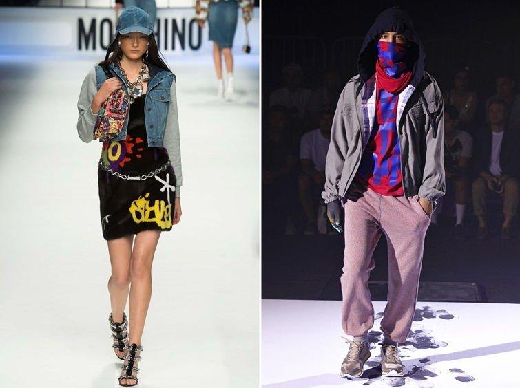 Граффити стиль в одежде