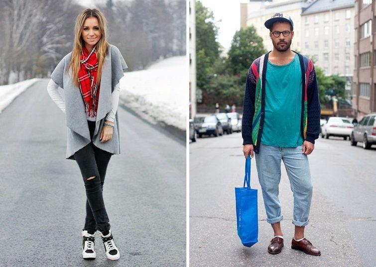 Стили в одежде: хипстер
