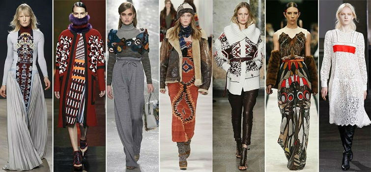 Стили одежды - этностиль
