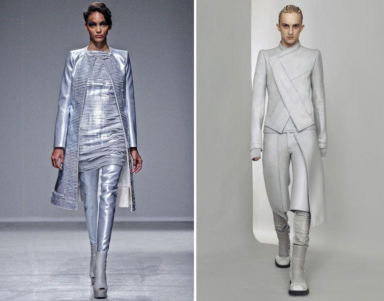 Космический стиль в одежде