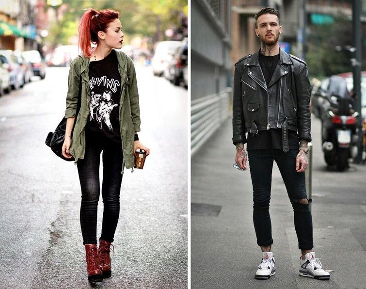 Панк-стиль в одежде