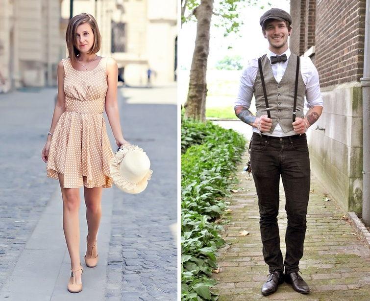 Стиль романтизм в одежде
