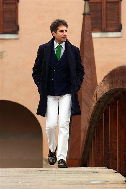 Академический стиль в мужской одежде