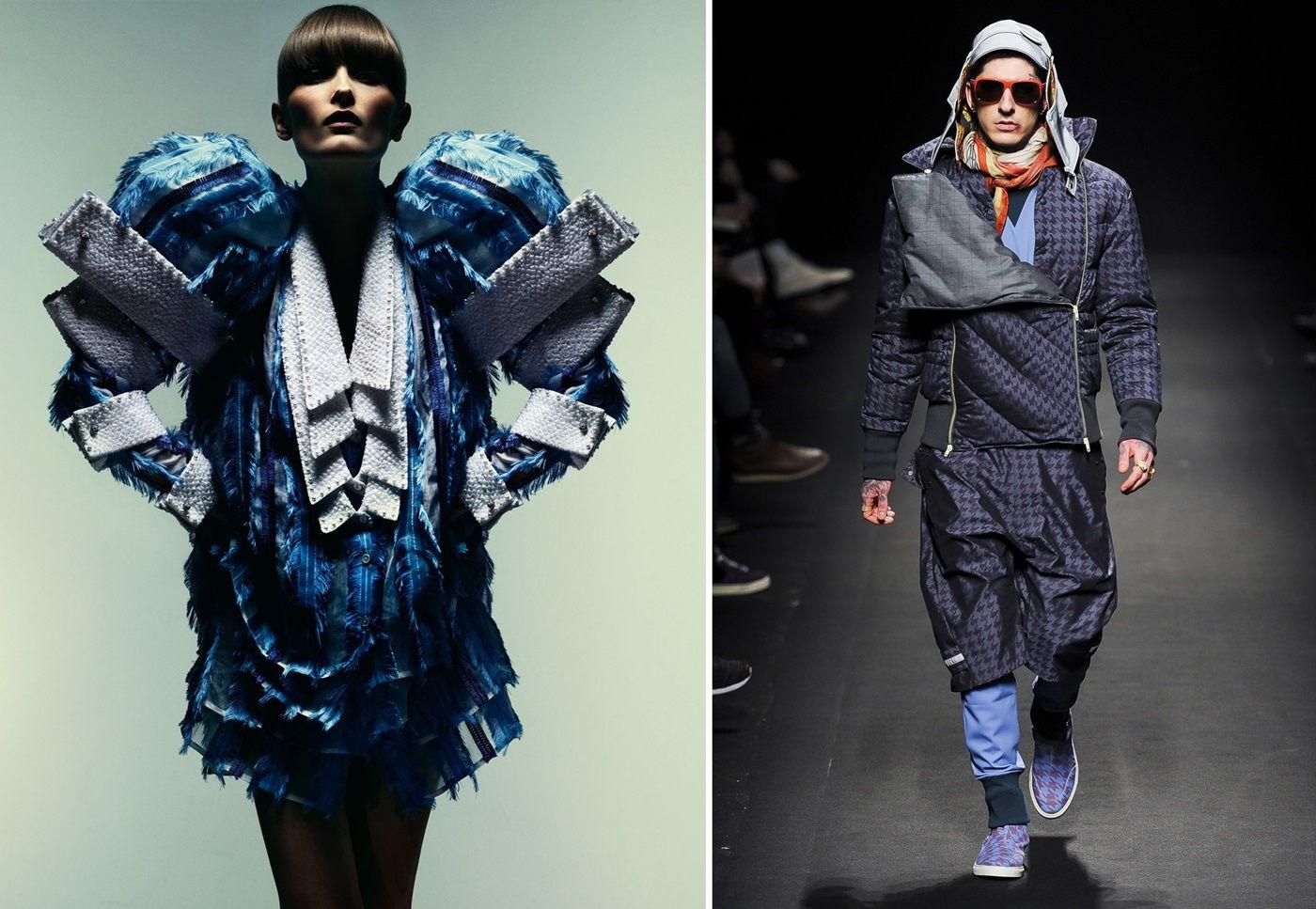 картинки одежда авангардный стиль чика встала
