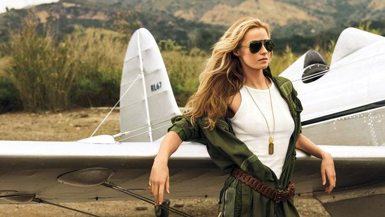 Стиль авиатор в одежде - фотосессия