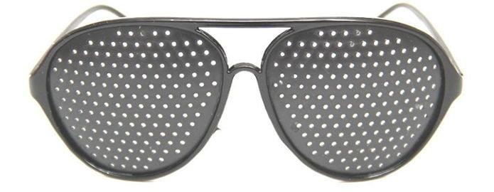 Солнцезащитные очки - перфорированные