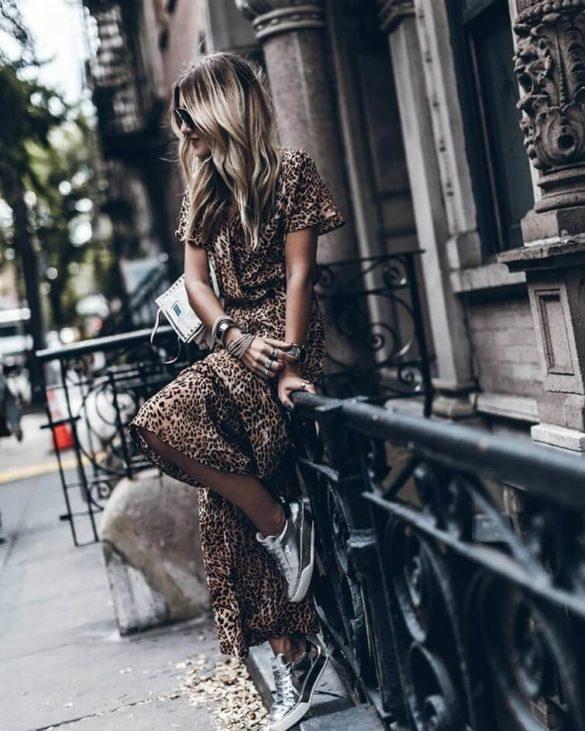 Анимализм в одежде, стильные образы, фото
