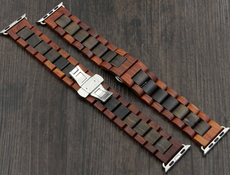 Деревянные браслеты