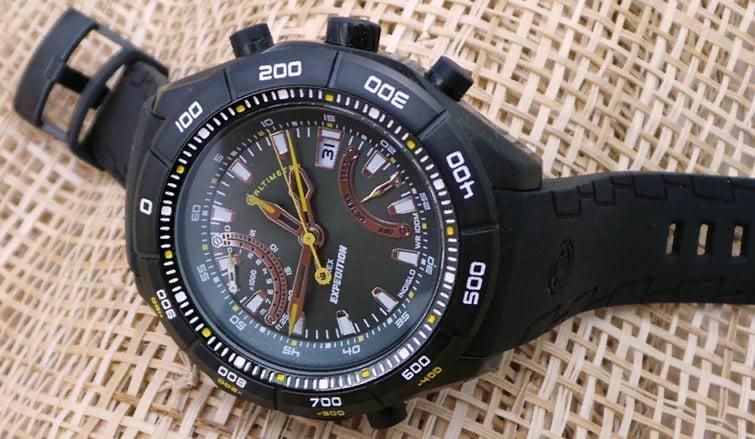Наручные часы с альтиметром
