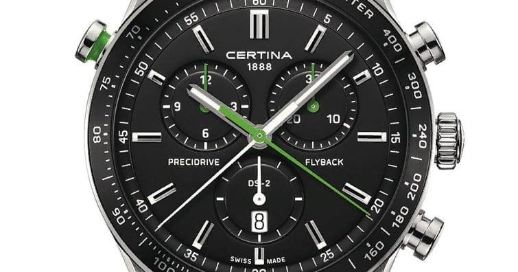 Наручные часы с секундомером и хронографом