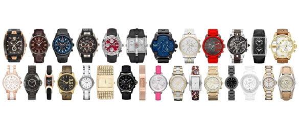 Разновидности наручных часов