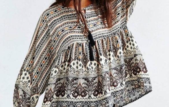 Блузка в стиле вестерн