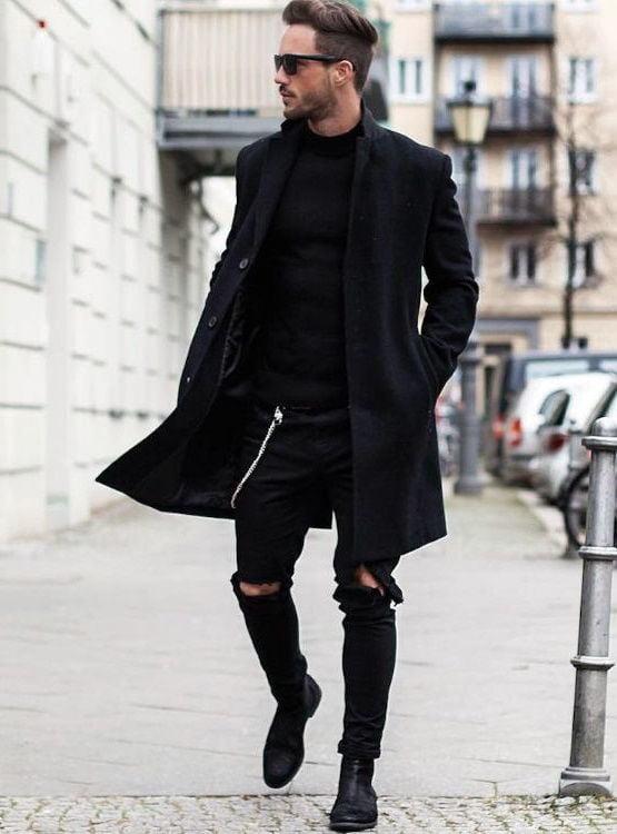 Готический стиль в одежде: разновидности, образы, фото