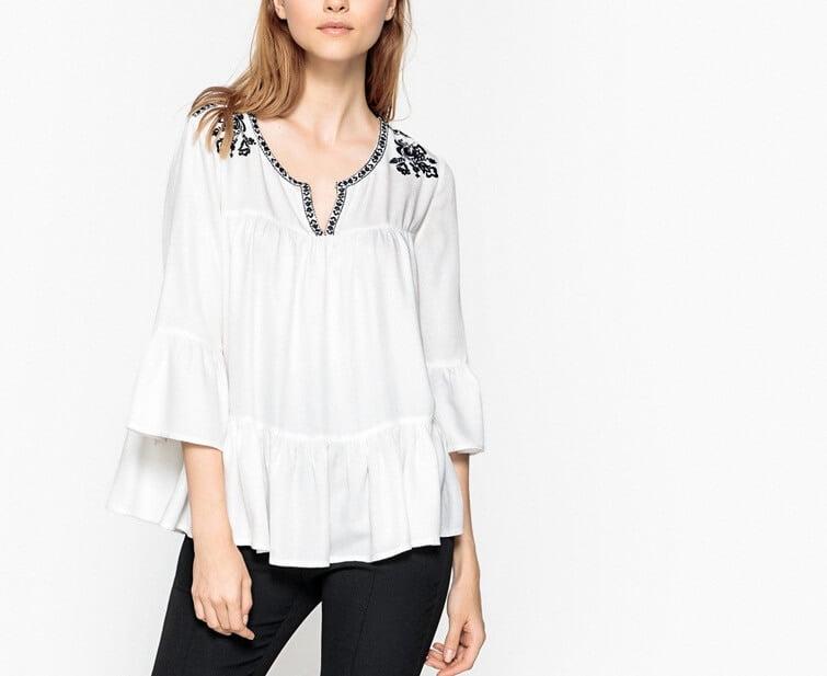 Блузка в стиле гаучо