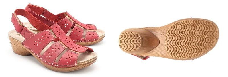 Виды подошв обуви: деревянная подошва