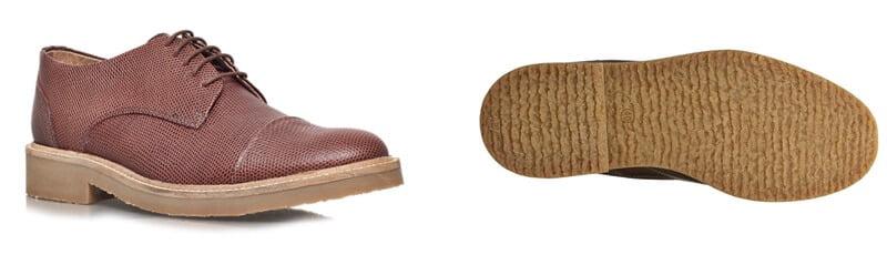 Виды обувных подошв: креповая подошва