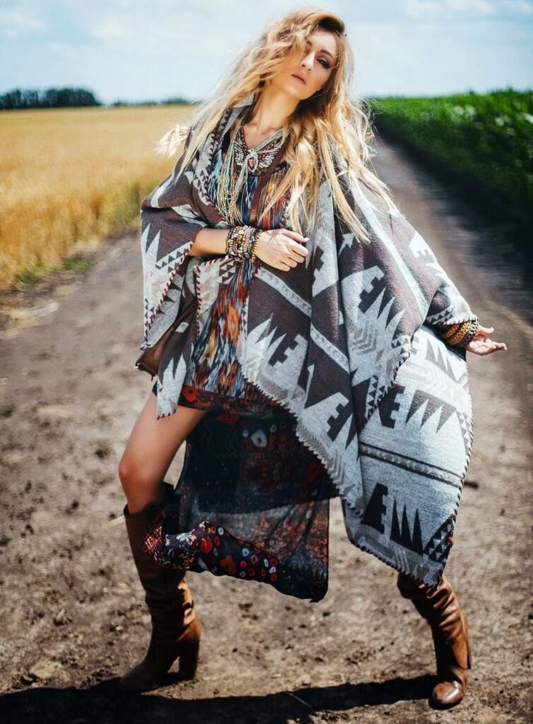 Стиль гаучо в одежде женщин