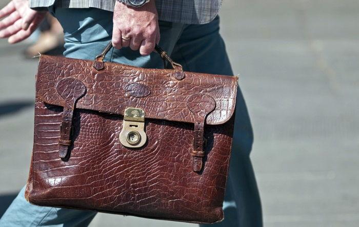 Винтажный портфель