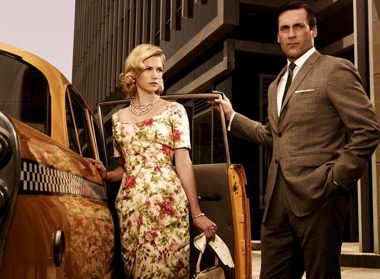 Винтажный стиль в одежде 50-х