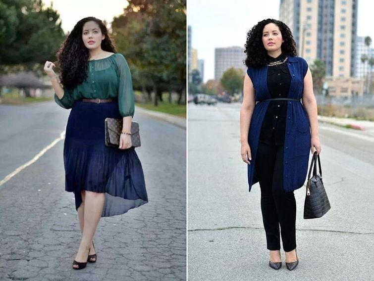 Как правильно одеваться чтобы выглядеть стройнее - фото 6