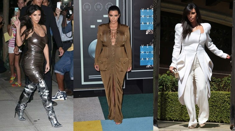 Неудачные наряды Ким Кардашьян