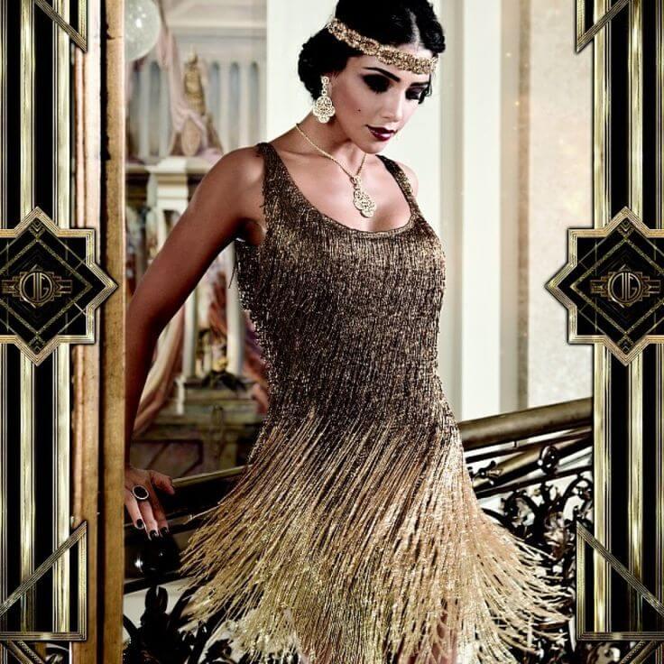 Платье в стиле арт-деко