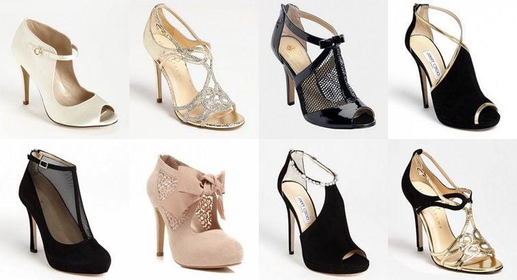 Женские туфли в стиле Гэтсби