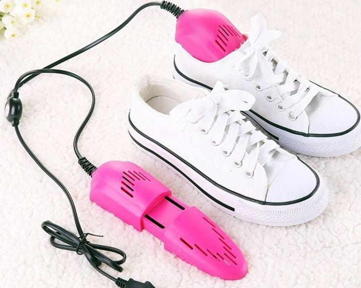 Базовые правила ухода за обувью - сушка