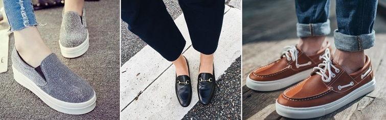 Обувь в стиле городской шик