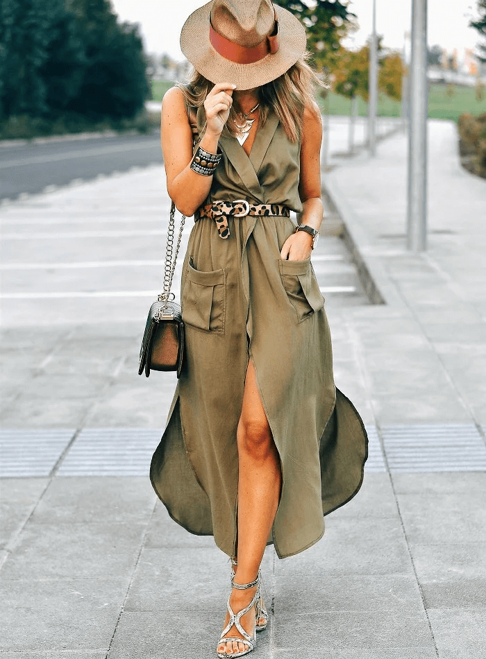 Стиль Сафари в одежде - колониальная мода