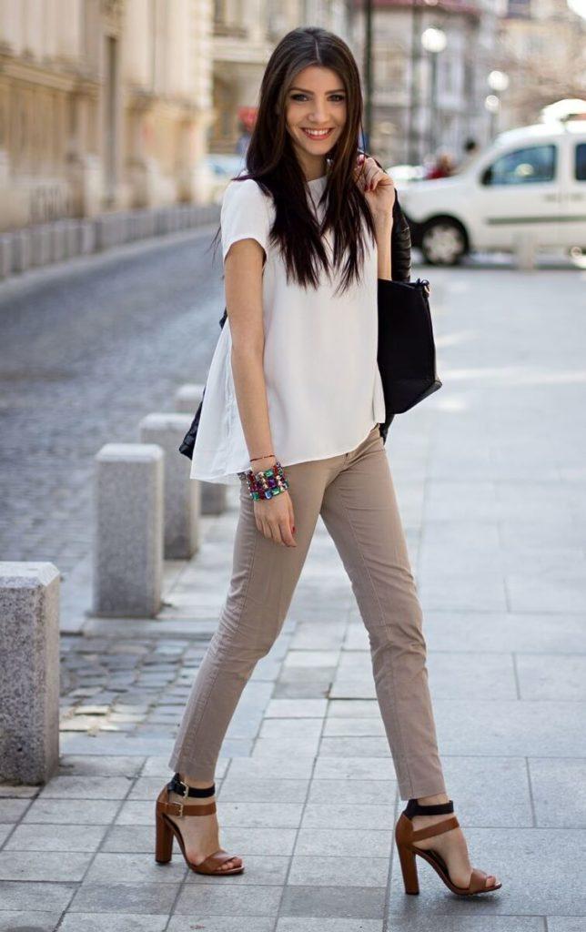 Стиль кэжуал в одежде: мода в большом городе