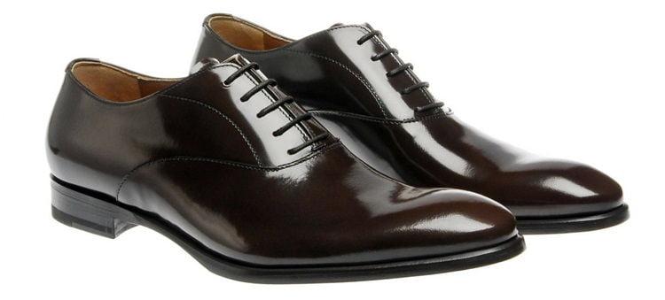 Plain oxford shoes
