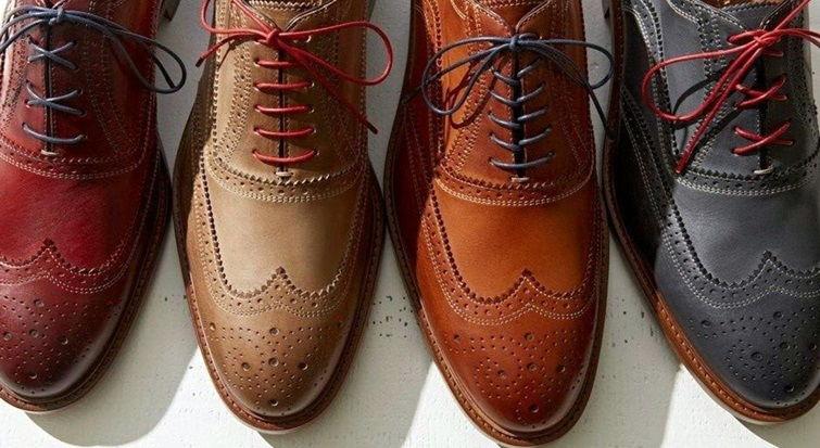 Варианты шнуровки для оксфордов