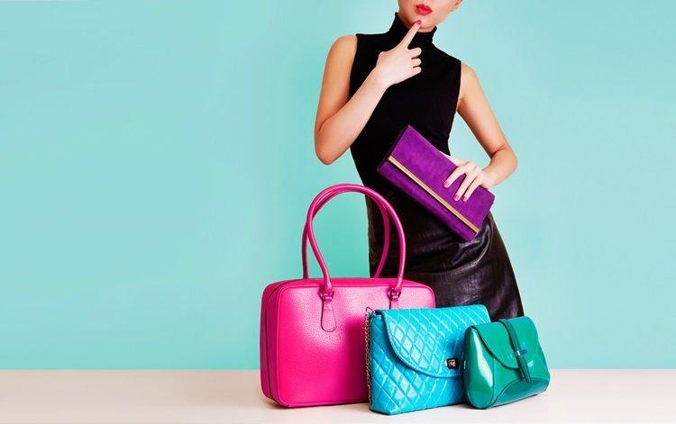 Все виды женских сумок - фото