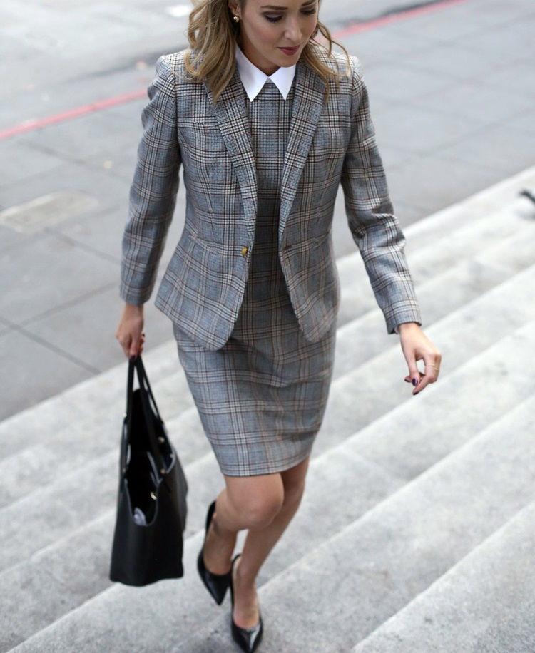 Деловой стиль одежды для женщин - фото 1