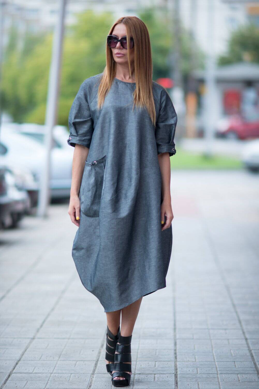 Правила сочетания одежды в стиле оверсайз - фото (5)