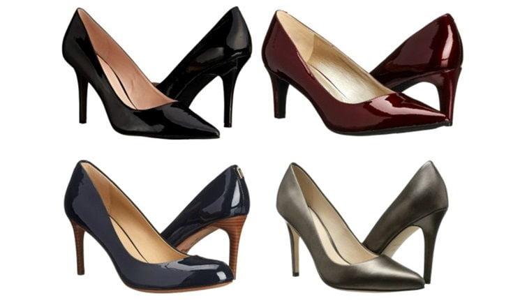 Женские туфли в деловом стиле