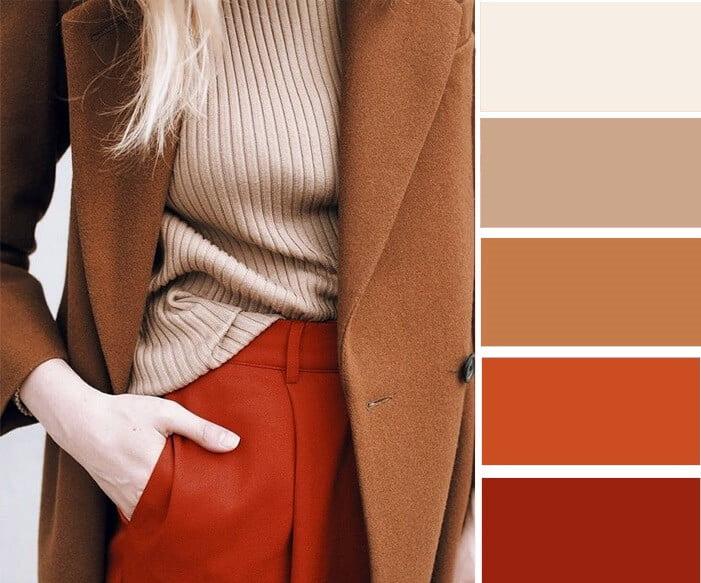 Цвета в одежде – варианты сочетаний