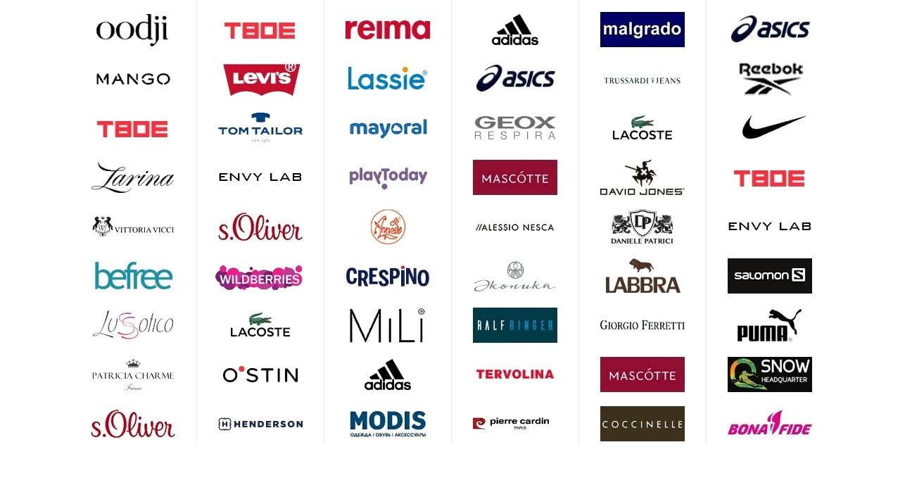 Сеть Магазинов Одежды В Москве Список Названий