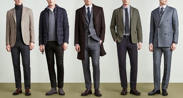 Деловой стиль одежды для мужчин - фото