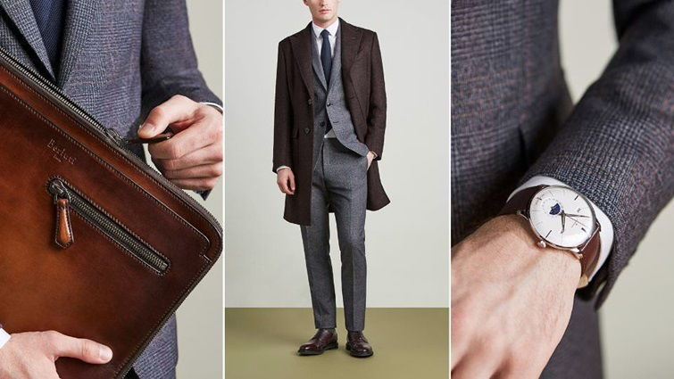 Мужские аксессуары в деловом стиле