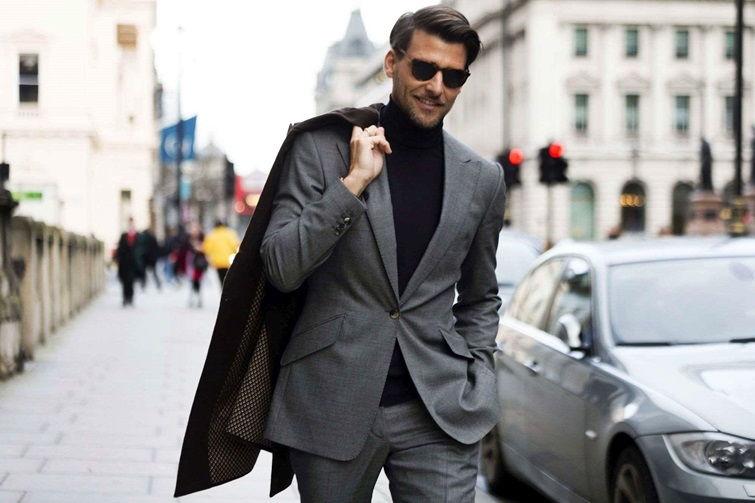 Повседневный деловой стиль в одежде мужчин