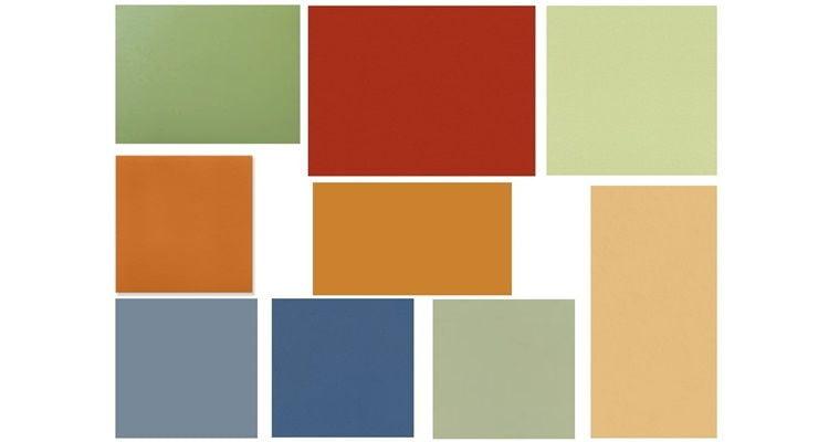 Цветовой коллаж - пример