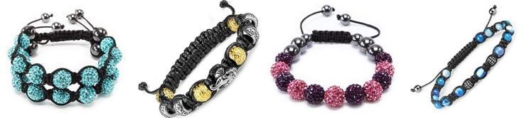Все виды браслетов - Шамбала