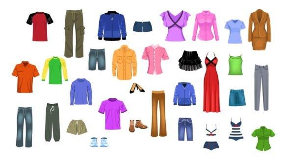Все виды одежды список