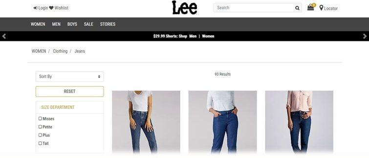Лучшие бренды джинсов - Lee