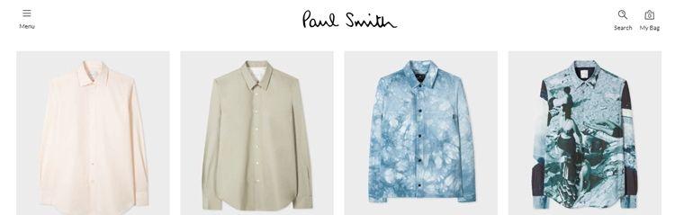 Лучшие бренды рубашек - Paul Smith