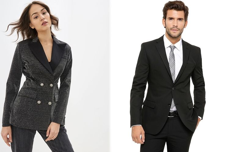 Пиджак женский и мужской