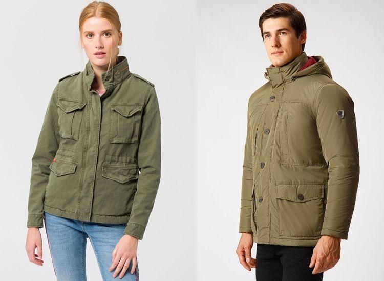 Виды мужской и женской одежды - куртка Норфолк